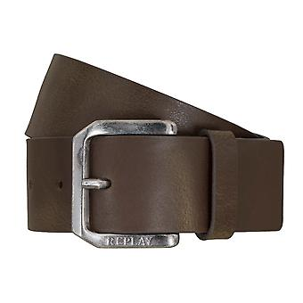 Replay belt leather belts men's belts jeans belt Brown 5106
