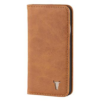 Iphone 6 / 6s Usa Tan Leather Case, With Stand Function