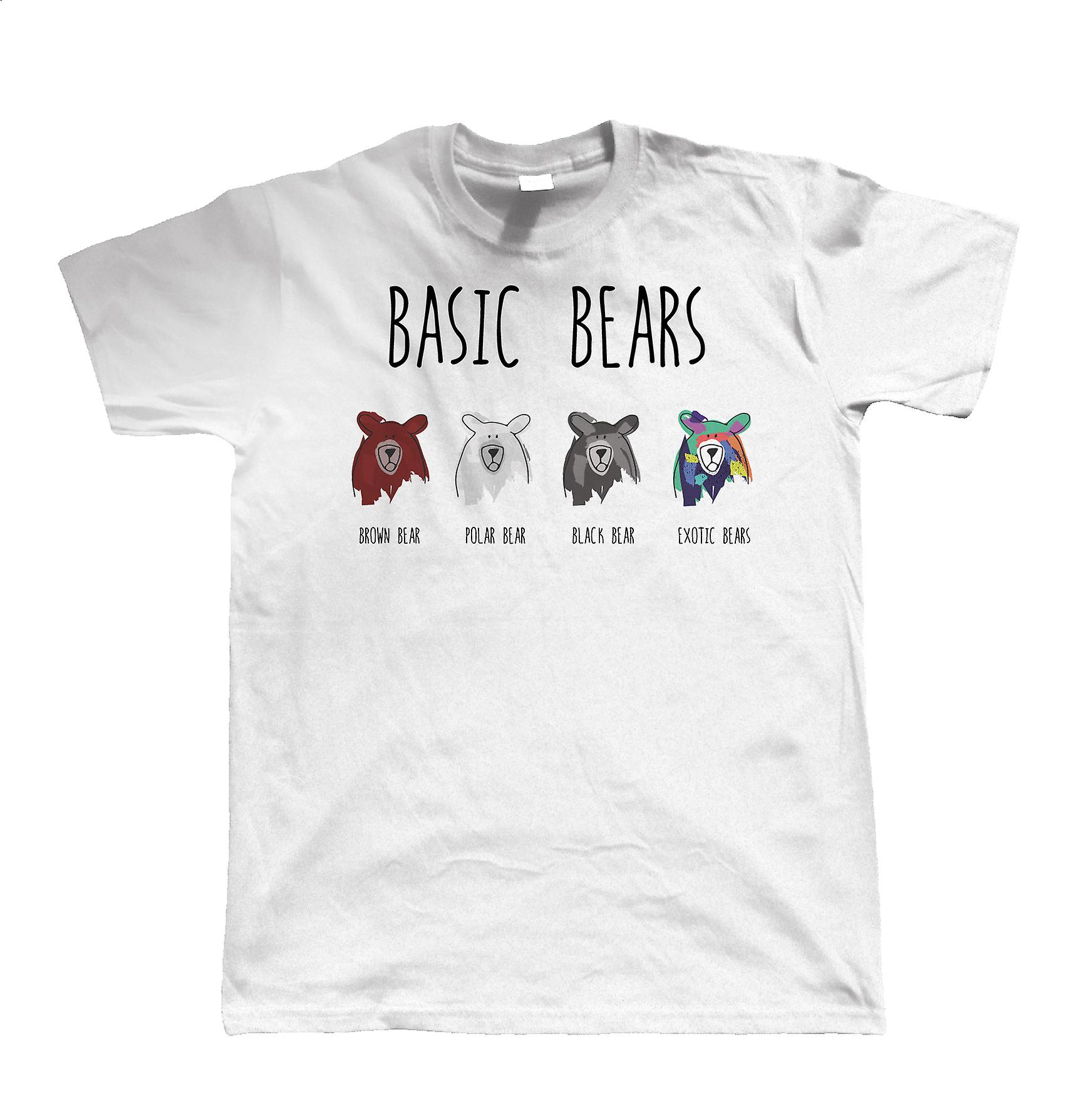Basic Bears Unisex T Shirt