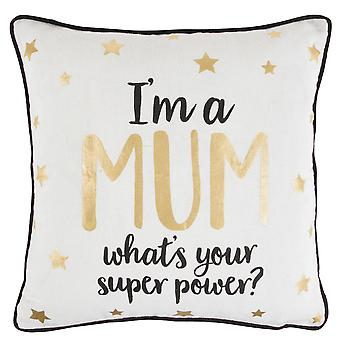 Sass & Belle Mum Star Superpower Cushion