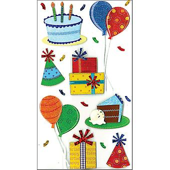 Jolee's Boutique Dimensional Stickers-Birthday Celebration