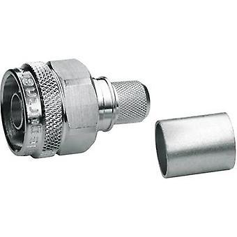 N connector Plug, straight 50 Ω Telegärtner J01020A0110 1 pc(s)