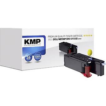 KMP Toner cartridge replaced Dell 593-11143 Compatible Yellow 1400 pages D-T81Y