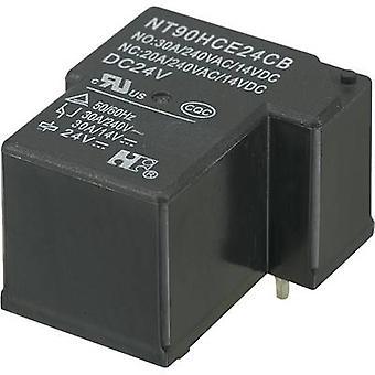 Relè per circuito stampato NT90HCE24CB 24 Vdc 30 A commutazione 1 1/PC