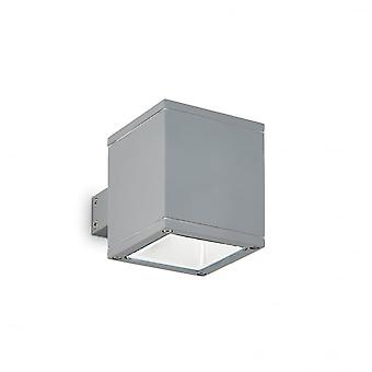 Ideal Lux Snif Wall Light Square grau
