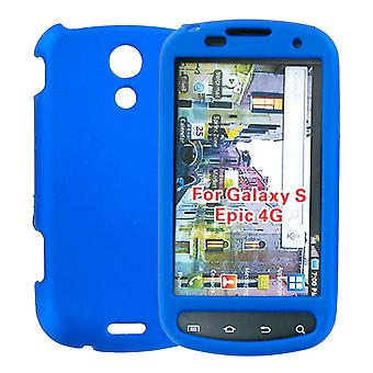 Samsung Epic 4G Galaxy S Hard Shell Snap-On Case - Blue