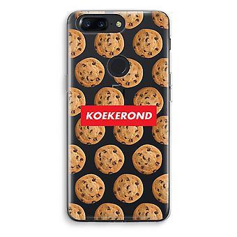OnePlus 5T Transparent Case (Soft) - Koekerond