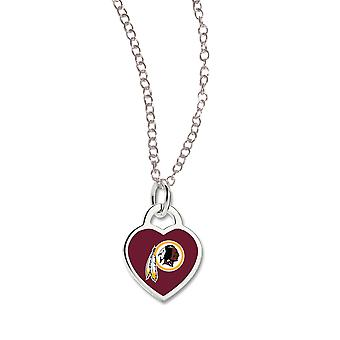 Wincraft ladies Heart Necklace - NFL Washington Redskins