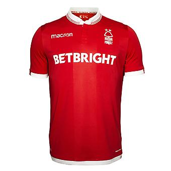 2018-2019 Nottingham Forest Macron Home Football Shirt