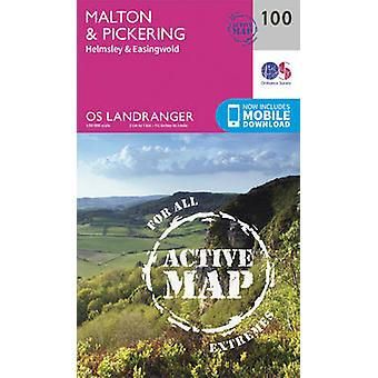 Malton Pickering Helmsley Easingwold av Ordnance Survey