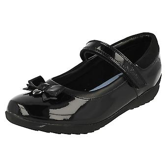 Girls Clarks School Shoes Ting Fever INF