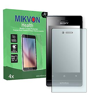 Sony Xperia ST23 Screen Protector - Mikvon Health (Retail Package with accessories)