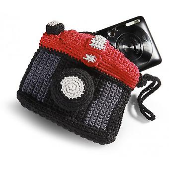 Hand Crocheted Camera Cases