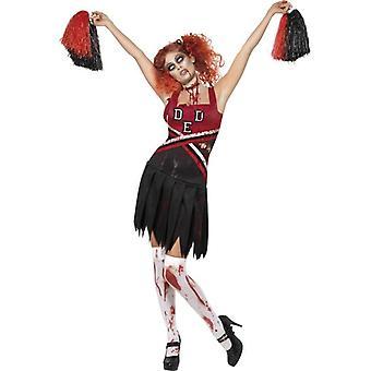 Smiffy's High School Horror Cheerleader Costume