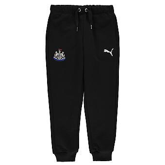 Puma Kids Newcastle United Pants Trousers Jogging Bottoms Junior Boys Drawstring