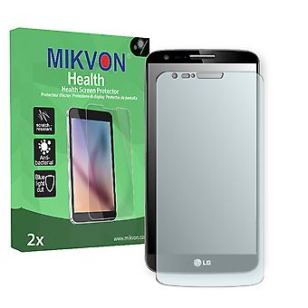 LG D802 G2 TD-LTE Screen Protector - Mikvon Health (Retail Package with accessories) (reduced foil)