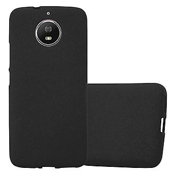 Cadorabo case for Motorola MOTO G5s - mobile cover from TPU silicone mats frosted design - silicone case cover ultra slim soft back cover case bumper
