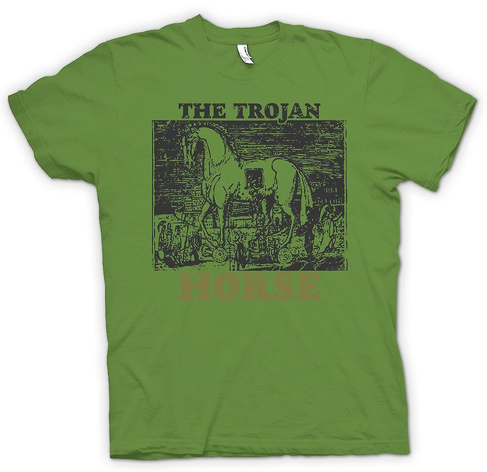 Mens T-shirt - The Trojan Horse - Troy