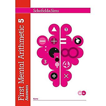 First Mental Arithmetic Answer Book 5 (of 6): Key Stage 1/Key Stage 2