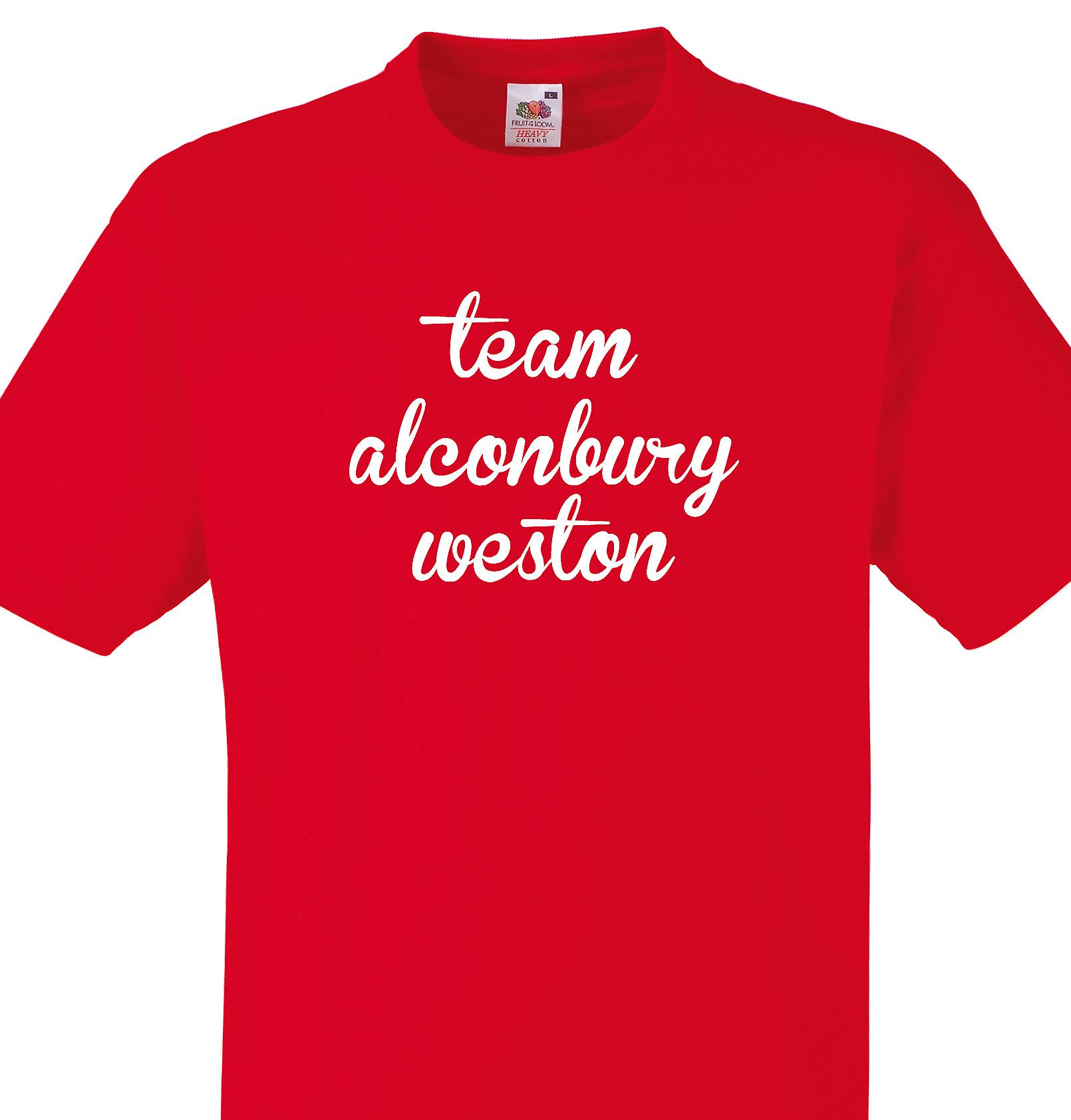 Team Alconbury weston Red T shirt