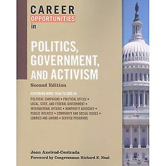 Career Opportunities in Politics, Government, and Activism (Career Opportunities) (Career Opportunities (Paperback))