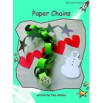 Paper Chains: Level 2: Fluency (Red Rocket Readers: Non-fiction Set B)