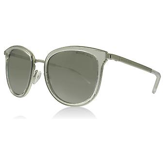 Michael Kors MK1010 11026G Clear / Silver Adrianna I Round Sunglasses Lens Category 3 Lens Mirrored Size 54mm
