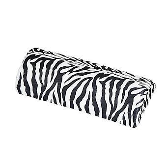 Support acrylique ongles oreiller Zebra poignet reste manucure uvgel des ongles