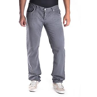 John Richmond Grey Cotton Pants