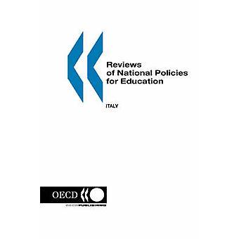 Anmeldelser af nationale politikker for uddannelse Italien af OECD. Udgivet af OECD Publishing