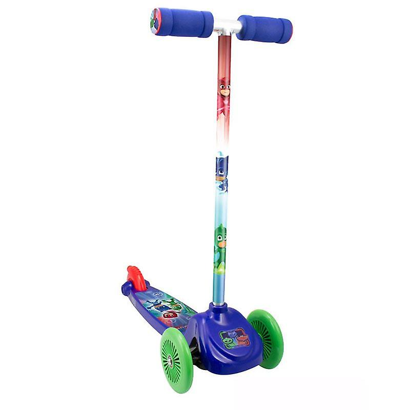 PJ Masks Kids Three Wheel Flex Scooter (OPJM199)