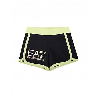 Ea7 Neon Piping Detail Shorts