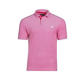Birdseye Pique Polo - Vivid Pink