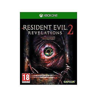 -Резидент зло откровения 2 Xbox 1
