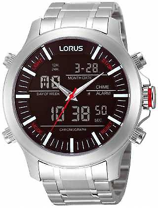 Lorus Alarm Chronograph RW601AX9 Watch
