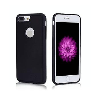 Stuff Certified ® iPhone 8 Plus - Anti Gravity Absorption Case Cover Cas Case Black