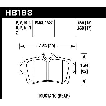Hawk performance HB183Z. 660 PC