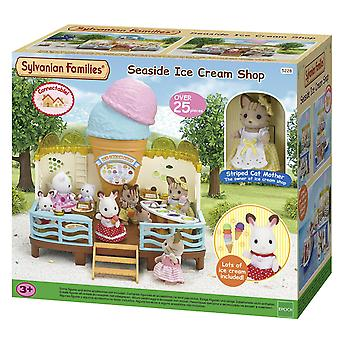Sylvanian Familie am Meer Eis Shop Set