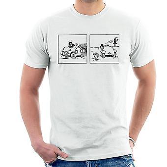 Krazy Kat Car Scene Men's T-Shirt