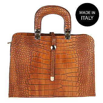 Handbag made in leather Italy 2130