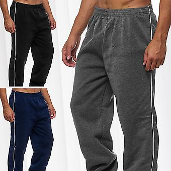 Men's Sweat Pants Sports Trousers Casual Activewear Fitness Training Side Strips