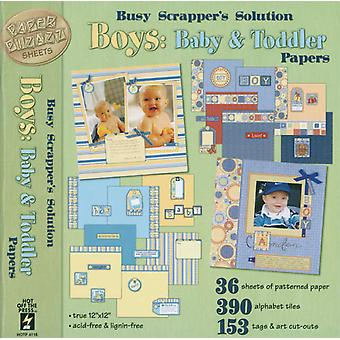 Paper Pizazz Papers & Accents Boys Baby & Toddler Hf P 4118