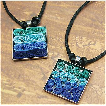 Quilling Kit Modern Waves Necklace Q281