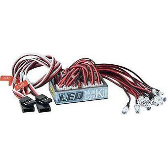 Carson Modellsport Lighting system White, Red 4 - 6 Vdc
