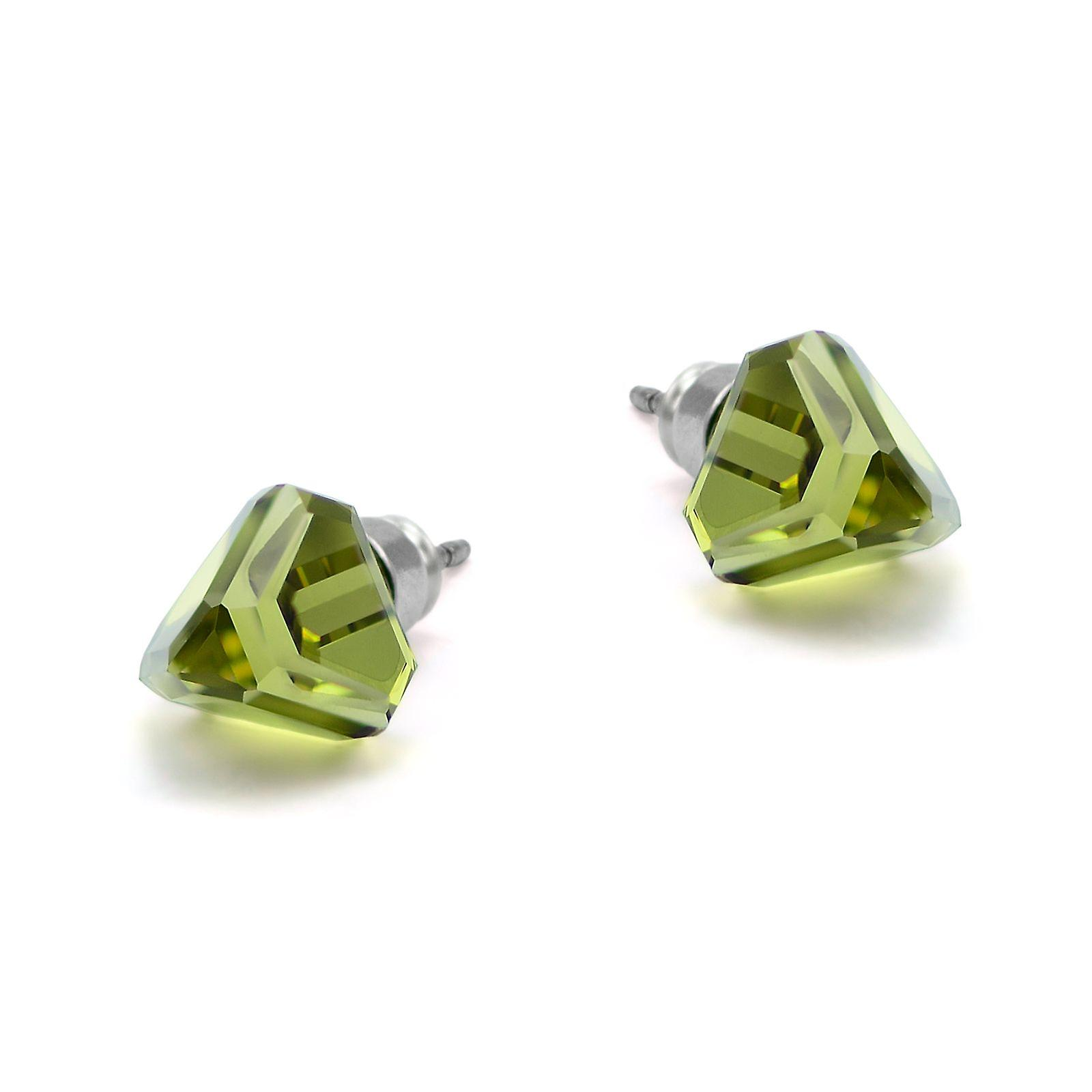 Green stud earrings EMB 13.3