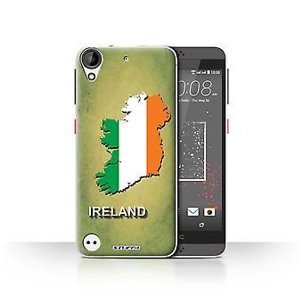 STUFF4 Case/Cover for HTC Desire 530/Ireland/Irish/Flag Nations