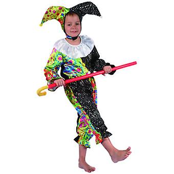 Dimasa Nino Jester Costume Size 4-6 Years (Kinder , Spielzeuge , Kostueme)
