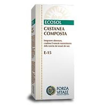 Forza Vitale Compost Extract Castanea 50Ml. (Herbalist's , Natural extracts)