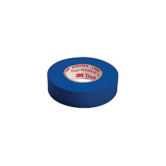 3 m Band-blau/3 m Temflex isolierendes Band 15 Mm 10 M blau