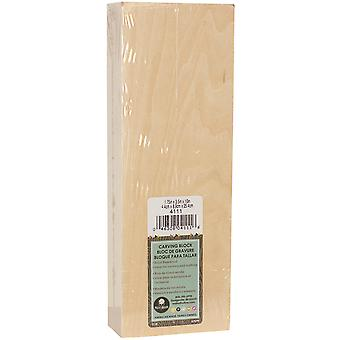 Basswood Carving Block-1.75